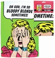 BLOODY BLONDE - GESCHIRRTUCH