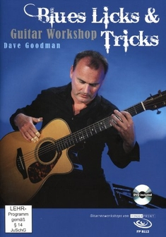 DAVE GOODMAN - BLUES LICKS & TRICKS  (+ BUCH)