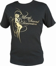 LUCY´S SECOND DIMENSION - BLACK/GOLD - SHIRT