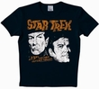 LOGOSHIRT - STAR TREK SHIRT  - 23RD CENTURY BLACK