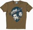 LOGOSHIRT - STAR TREK SHIRT  - PLANET SANDY - BROWN