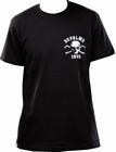 DEPALMA - SKULL AND BONES - SHIRT - BLACK