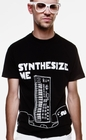 SYNTHESIZE ME - SHIRT - SCHWARZ