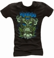 TIKI TOTEM BLACK - GIRL SHIRT