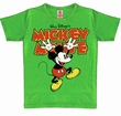 KIDS SHIRT - MICKEY HANDS UP - VINTAGE GRÜN