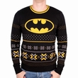 BATMAN WINTER PULLOVER LOGO
