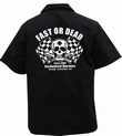FAST OR DEAD - WORKER SHIRT - SCHWARZ
