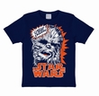KIDS SHIRT - STAR WARS - CHEWBACCA BLAU