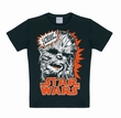 KIDS SHIRT - STAR WARS - CHEWBACCA SCHWARZ