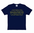 KIDS SHIRT - STAR WARS - LOGO BLAU