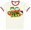 LOGOSHIRT - SOUTH PARK WILD BUNCH SHIRT - ROT WEISS