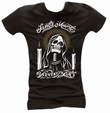 SANTA MUERTE - GIRL SHIRT SCHWARZ