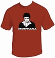TONY MONTANA - SHIRT - GRANATE