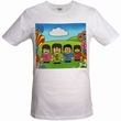 TOONSTAR - PEPPERS POSTER - SHIRT - WEISS