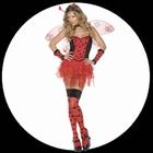 Sexy Marienkäfer Kostüm Deluxe
