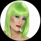 Glam Per�cke Neon Gr�n