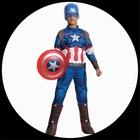 Captain America Avengers 2 Deluxe Kinder Kost�m - Marvel