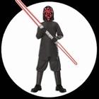 Darth Maul Kinder Kost�m Box mit Doppel-Lichtschwert - Star Wars