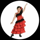 Flamenco Kostm Kinder - Spanische Prinzessin