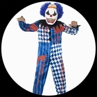 Horror Clown Kostüm - Kinder