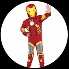 Iron Man Kinder Kostm