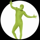 Körperanzug - Bodysuit - Grün