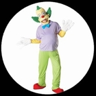 Krusty der Clown Kost�m Erwachsene - The Simpsons