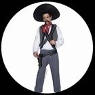 Mexikanischer Bandit Kostüm - Western Kostüm