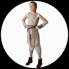 Rey Kinder Kost�m Deluxe EP7 - Star Wars