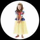 Schneewittchen Kinder Kostüm Glitzer - Disney