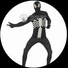 Schwarzes Spiderman Kostüm Erwachsene Körperanzug Die Spinne