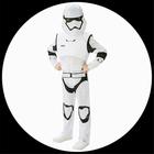 Stormtrooper Kinder Kost�m Deluxe EP7 - Star Wars