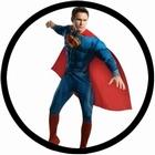 SUPERMAN DELUXE KOST�M MAN OF STEEL