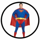 SUPERMAN KOST�M XXL - PLUS SIZE