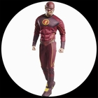 The Flash Deluxe Kost�m - DC Comic