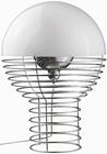 VERNER PANTON LAMPE - WIRE - WEISS - VERPAN