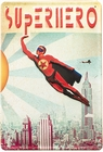 BLECHSCHILD - MAX HERNN SUPERHERO BOY