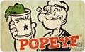 Frühstücksbrettchen - Popeye mit Spinatdose
