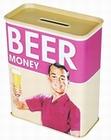 SPARDOSE BEER MONEY - GELD FÜR BIER - Coolstuff - Küche - Blechdosen