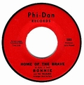 1 x BONNIE AND THE TREASURES - HOME OF THE BRAVE