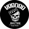 2 x SLIPMAT - VOODOO RHYTHM RECORD SLIPMAT BLUES TRASH