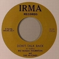 1 x BIG MAMA THORNTON - DON'T TALK BACK