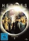 HEROES - DIE KOMPLETTE SEASON 2 [4 DVDS] - DVD - Unterhaltung