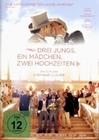 DREI JUNGS, EIN MÄDCHEN, ZWEI HOCHZEITEN (OMU) - DVD - Komödie