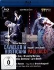 MASCAGNI/LEONVALLI - CAVALLERIA RUST./PAGLIACCI - BLU-RAY - Musik