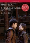 WILLIAM SHAKESPEARE - AS YOU LIKE IT - DVD - Theater