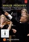 MAHLER/PROKOFIEV - SYMPHONY NO. 1/PIANO C. NO. 3 - DVD - Musik