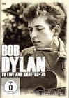 BOB DYLAN - LIVE AND RARE TV BROADCASTS 1963-75 - DVD - Musik