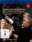 MAHLER/PROKOFIEV - SYMPHONY NO. 1/PIANO C. NO. 3 - BLU-RAY - Musik