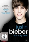 JUSTIN BIEBER - THIS IS MY WORLD - DVD - Musik